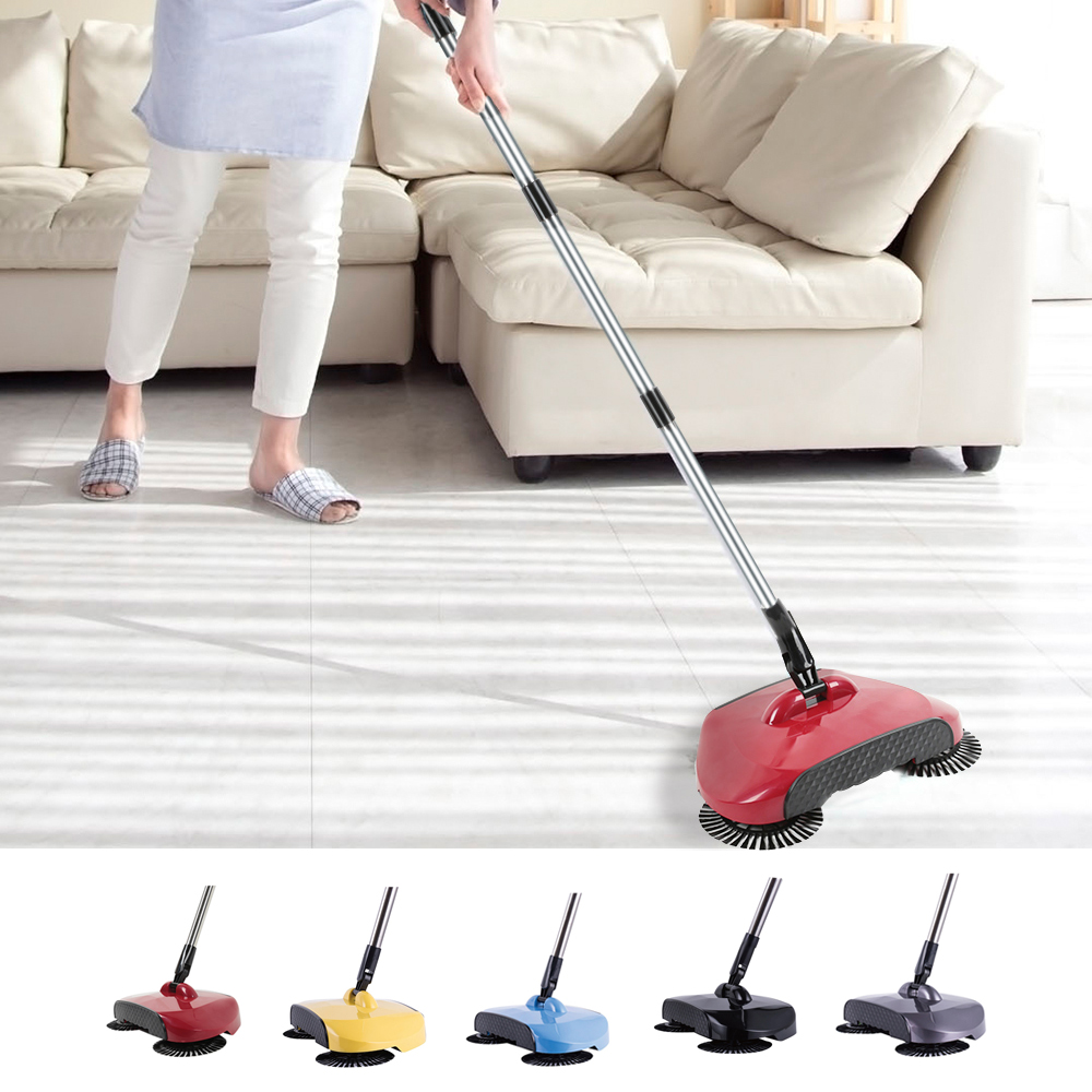 Electric Floor Mops Hand Push Sweepers Sweeping Machine Hand Push Magic Broom Sweepers Dustpan Household Cleaning Appliances