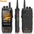 Оригинал Runbo H1 IP67 Прочный Водонепроницаемый Телефон Android DMR Радио УКВ PTT Walkie Talkie Смартфон 4 Г LTE 6000 МАЧ MTK6735