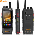 Original Runbo H1 IP67 Rugged Waterproof Phone Android DMR Radio VHF UHF PTT Walkie Talkie Smartphone 4G LTE 6000MAH MTK6735