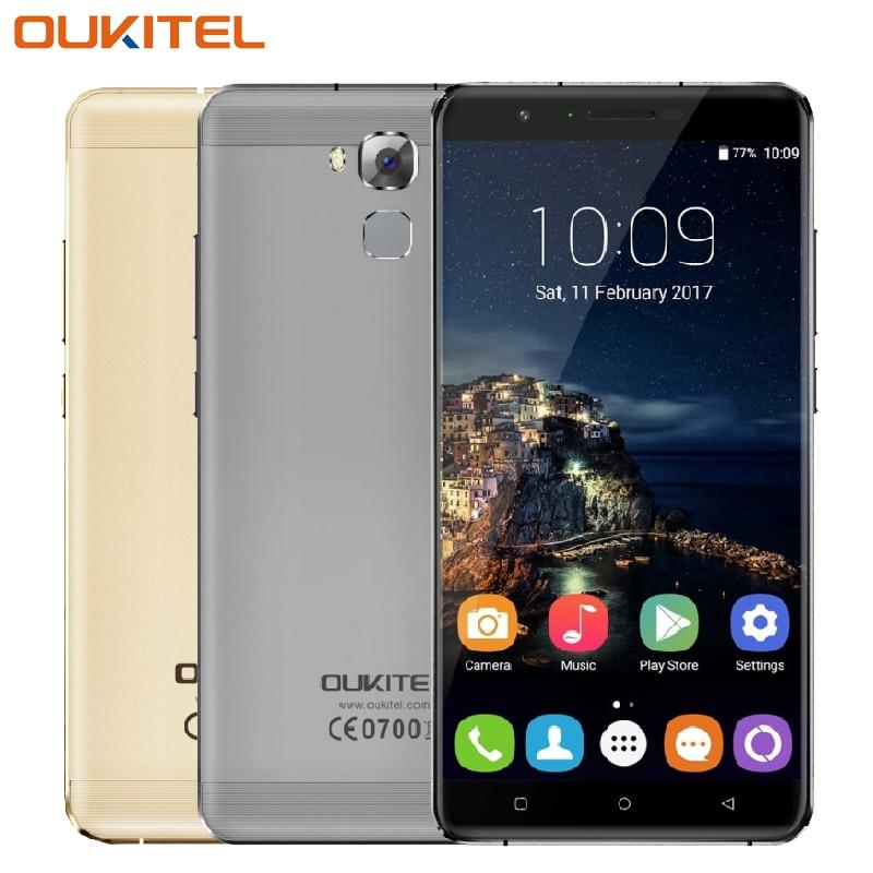 Original oukitel u16 max teléfono móvil 3 gb ram 32 gb rom Octa Core MTK675 6.0