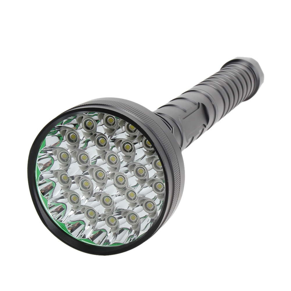 Waterproof 32000LM 5 Modes 24x XML T6 LED Flashlight Torch 18650 Battery Camping Lamp Light for Outdoor Camping Hiking