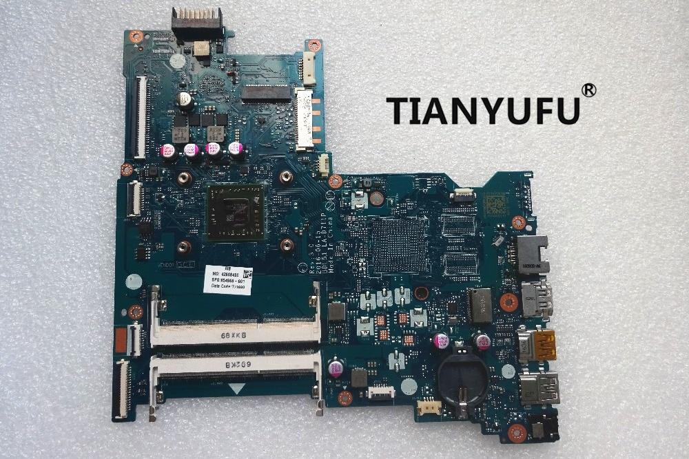 Free shipping 854968 001 854968 601 E2 7110 LA D711P 15 BA motherboard For HP 15