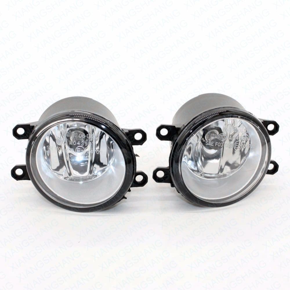 ФОТО 2pcs Auto Front bumper Fog Light Lamp Car H11 Halogen Light 12V 55W Bulb Assembly for Toyota YARIS 2007-2010 2011 2012 2013 2014