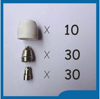 Free Shipping 70pcs P80 Panasonic Air Plasma Cutter Torch Consumables, Plasma TIPS,Nozzles 60/80/100Amp, Plasma Electrodes plasma tips 1 0mm 50amp and plasma electrodes fit sh 4 plasma torch consumables accessories 50pcs