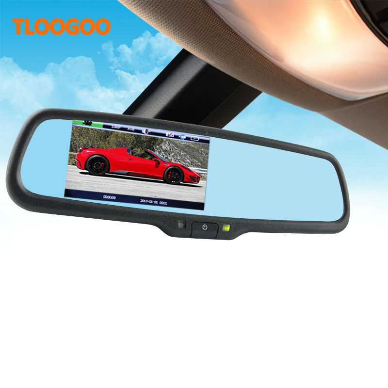 32GB Hilux Car-Rearview-Mirror-Dvr-Recorder Dual-Lens Night-Vision Full-Hd With 1080P