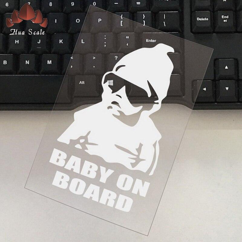 17 см автомобиля наклейку ребенок на борту творчески ребенка в заднего окна водонепроницаемый солнцезащитный крем светоотражающий предупр...