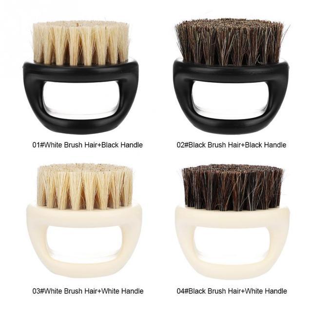イノシシ毛皮の男性のシェービングブラシ理容サロン男性ひげあごひげ掃除機シェービング工具かみそりハンドル男性のための