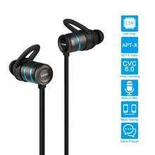 LESHP Ergonomic Sweatproof Noise-Cancelling Wireless Headphones 4.1 Hands-Free CSR8645 for Sport Enjoyment