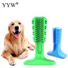 Rubber Soft Dog Pet Supplies Chew Toys Dogs Toothbrush Molar Tooth Cleaner Brushing Stick Doggy Dental Care Products