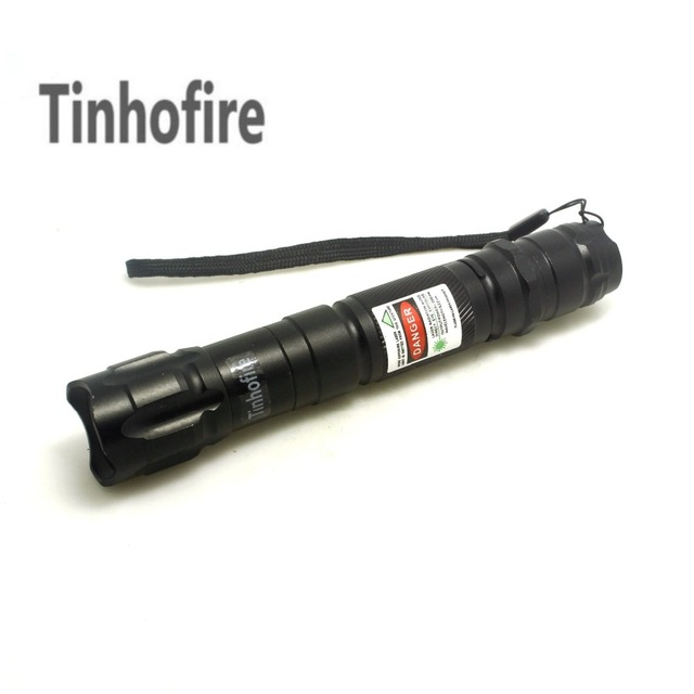 Tinhofire Green Laser Pen Laser Pointer Pen 5mW Green 532nm Laser Pointer Pen Flashlight