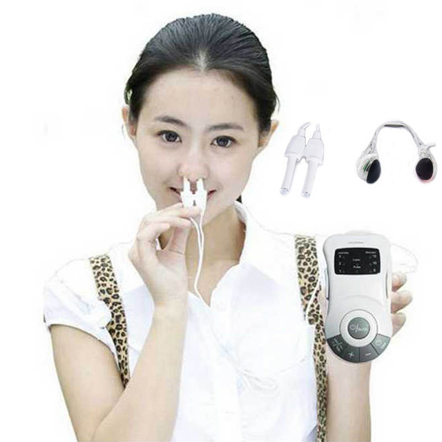 bionase nose rhinitis Allergy nose clip SnoreStop Sinusitis Cure Reliever Rhinitis Laser Therapy Treatment health care Massager