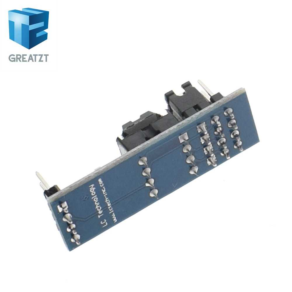 GREATZT New AT24C256 24C256 I2C interface EEPROM Memory Module for arduino