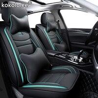 Kokololee кожаный чехол автокресла для hyundai kona i10 Chrysler Voyager Калибр lexus gs сиденье Арона ford smax защитное покрытие автомобильного сиденья