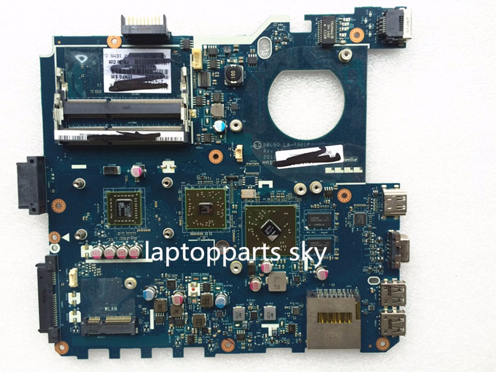 ФОТО Original new laptop motherboard for PBL50 LA-7321P fit for ASUS K43U K43B  with CPU mainboard