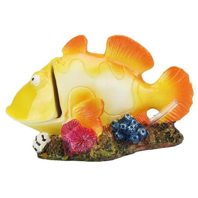 cartoon resin castle aquariums castle decoration aquarium landscaping fish gift wholesale hot sale on j10