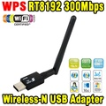 300 150mbps Mini USB Sem Fio Wifi Adapter Lan Card 802.11n/g/b sem Fios PC Wi-fi Receptor Dongle Wi-fi Antena Wi Fi Externo Para Laptop