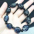 Natural sapphire bracelet hand bunch of men 18 arhats avatar