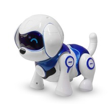 Buy Intelligent Robot Dog Toy Smart Electronic Pets Dog Kids Toy Cute Animals Intelligent Robot Puppy Gift Children Birthday Present directly from merchant!