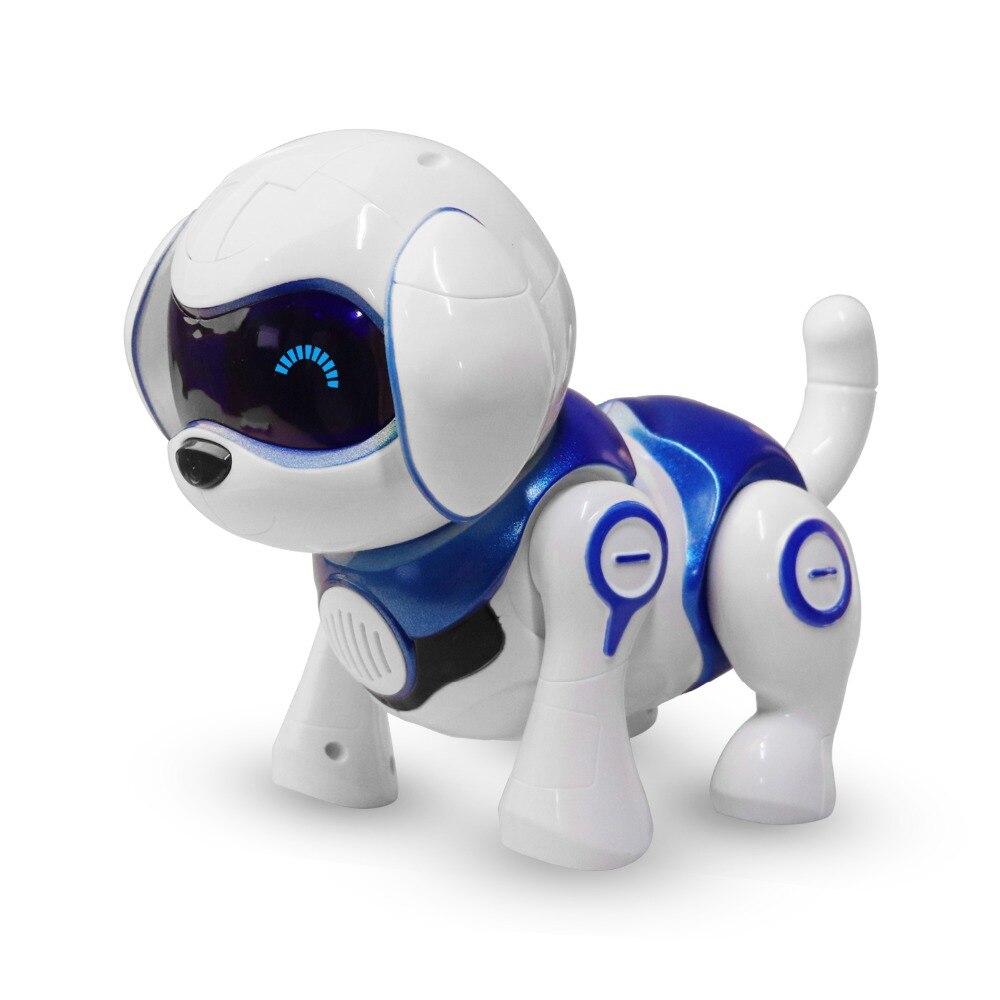 Télécommande Robot Intelligent Chien Intelligent Parler Robot Jouet Pour Chien Pet Électronique Pour Les Enfants Cadeau D'anniversaire