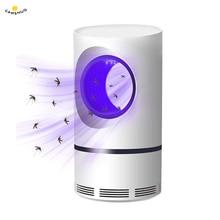 Электрический fly ошибка zapper убийца насекомых-комаров светодиодный USB ультрафиолетовый свет комнатный Сейф эффективное окружающее фотокаталитический свет