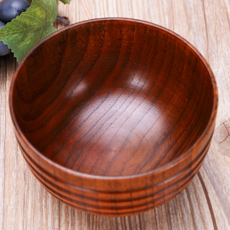 Beisesi Traditional Natural Solid Jujube Wood Bowls Food Soup Container  Dinner Tableware Wooden Healthy Eco Friendly Bowls In Bowls From Home U0026  Garden On ...