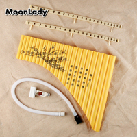 New Arrival Special Pan pipe 22 Pipes G Key ABS Plastic Musiacl Instrument Left Hand Children Kids panflutes