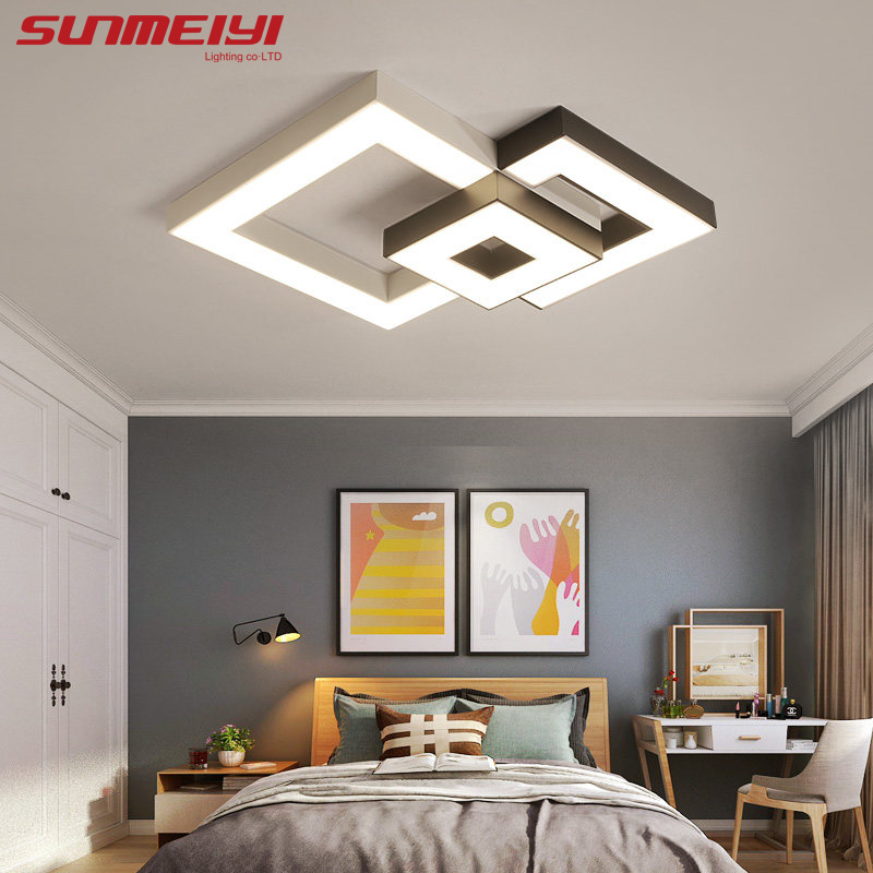 Modern Led Ceiling Lights With Remote Control lamparas de techo Led Lamps For Living room Dining room luminaire plafonnierModern Led Ceiling Lights With Remote Control lamparas de techo Led Lamps For Living room Dining room luminaire plafonnier