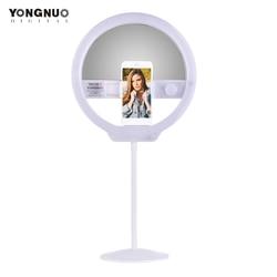YONGNUO YN128II Bi-Color LED Ring Video Light 3200K-5500K Photography Ring Lamp for iPhone HUAWEI SAMSUNG XIAOMI Smartphone