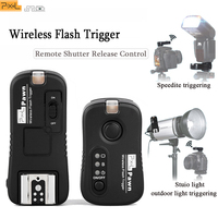 PIXEL Wireless Flash Trigger Remote Shutter Release Control Transceiver Receiver For Canon Nikon Sony Panasonic Olympus Camera