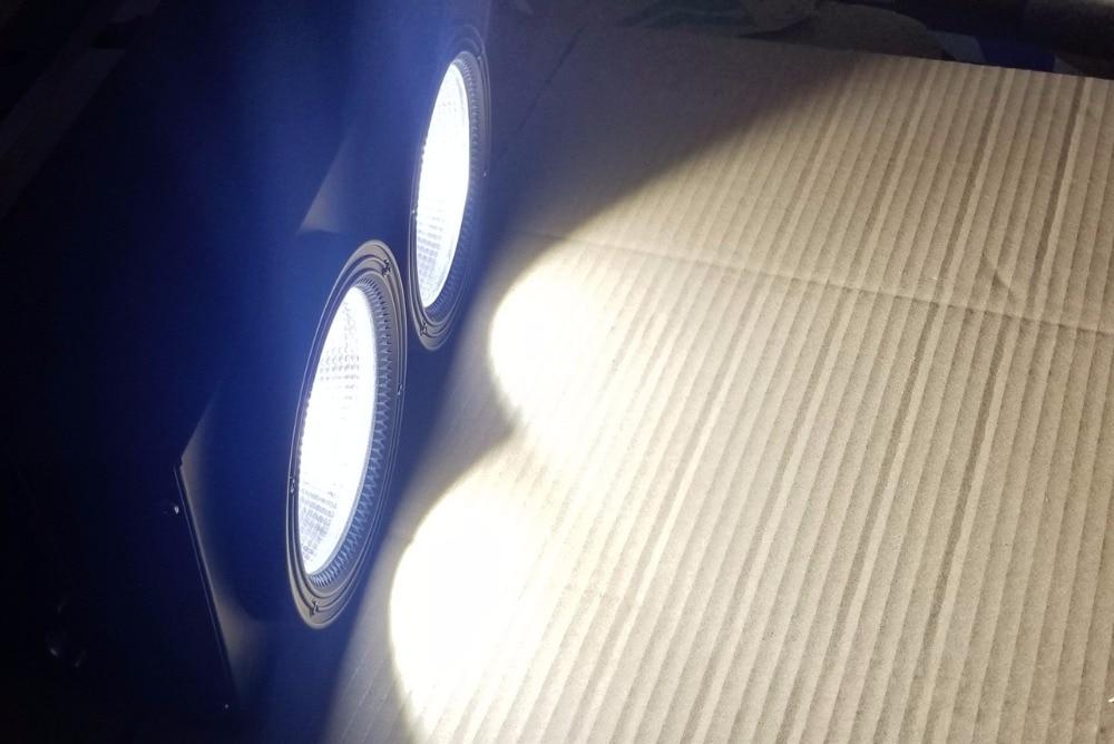 4X 2eyes 2x100w LED COB Light DMX Stage Lighting Effect Led Blinder Light ,Cool White / Warm White Dmx controll dj light show plaza light stage blinder auditoria light ww plus cw 2in1 cob lamp 200w spliced type for stage