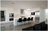 2017 new design modern modular kitchen cabinet customizes lacquer kitchen furniture unit cupboard