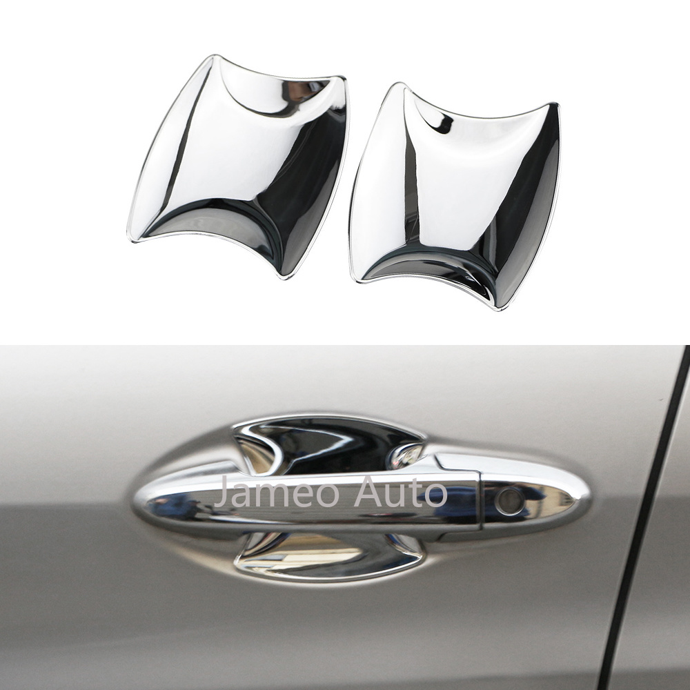 Car Front Outer Door Handle Bowl Cover Trim For Honda HR-V HRV Vezel 2014 2015 2016 2017 Accessories Chrome Door Handle Cover