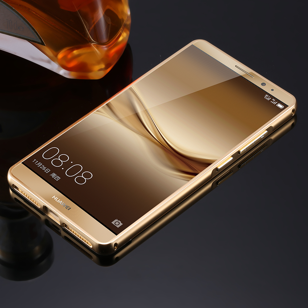 For Huawei Mate 8 Mobile Phone Cases 2 In 1 Combo Luxury Metal Case