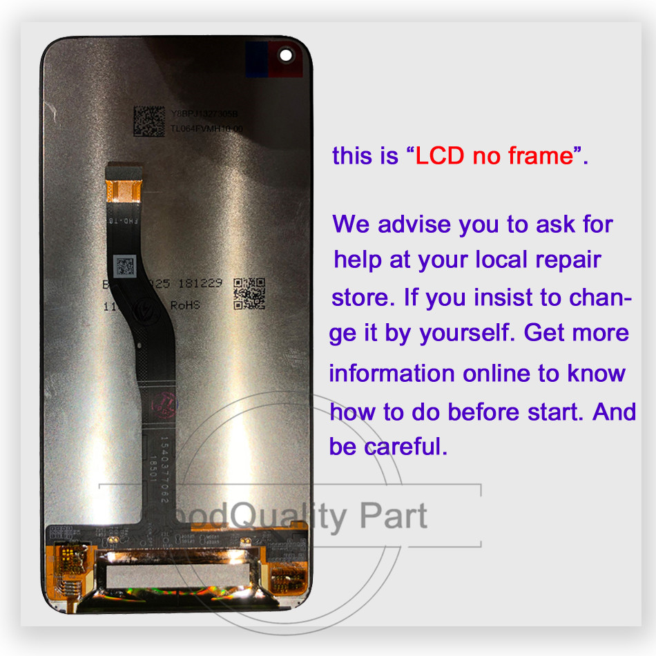 """6.4"""" New For Huawei Nova 4 LCD Display Touch Screen Digitizer Assembly VCE-AL00 VCE-TL00 LCD Replacement For Huawei Nova4 Lcd"""