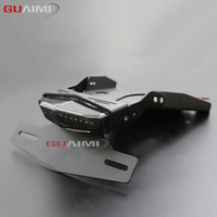 Motorcycle Tail Mount License Plate Bracket Brake Rear Lamp Taillight For BMW R NINE T 2014 2018 R9T