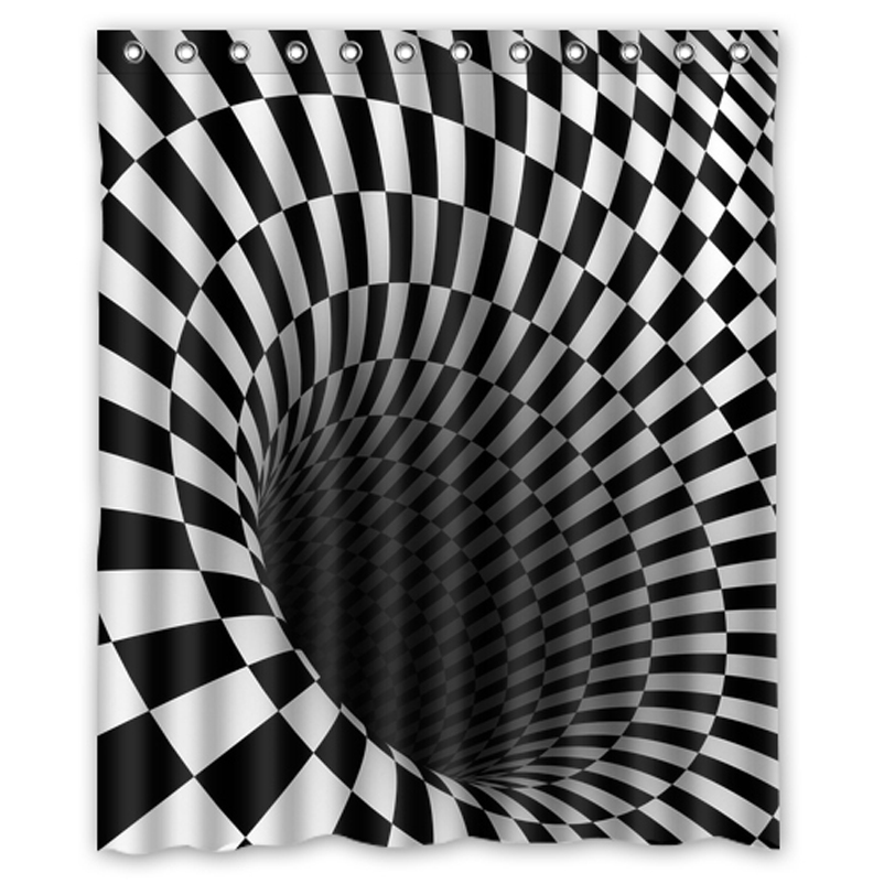 Bathroom Rugs 36 X 72: Aliexpress.com : Buy Fantasy Black Hole Plaid Custom Made