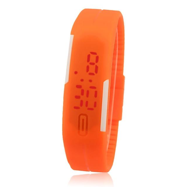 New Ultra Thin Men Girl Sports Silicone Digital LED Sports Wrist Watch Sports Watch Relogio Masculino Watch Men Reloj Hombre