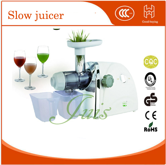 85r/min New wheatgrass juicer automatic orange apple slow juice maker-in Juicers from Home ...