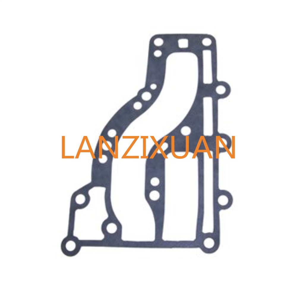 Boat Motor 63V-41112-A0 Exhaust Cover Gasket for Yamaha 2-Stroke 9.9hp 15hp