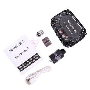 Image 5 - Electronic cigarette Veeape warwolf 150w pod vape kit Laser squonk box mod vape kit 3500mAh battery vapor vs Somant Pasito kit
