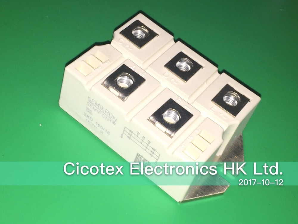 SKD160/18 three-phase rectifier SKD16018 MODULE IGBT Power Bridge RectifiersSKD160/18 three-phase rectifier SKD16018 MODULE IGBT Power Bridge Rectifiers