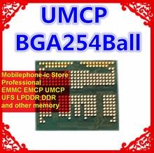 KM5V7001DM B621 BGA254Ball UMCP 128 + 32 128GB pamięć telefonu komórkowego nowe oryginalne i używane kulki lutowane testowanie pomyślne