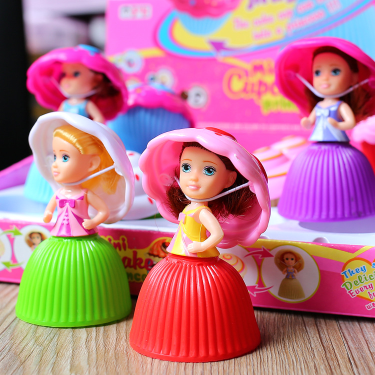 Children's Play House Toy Cake Novelty Girl Toy Trumpet Cake Donut Ice Cream Doll Princess Decoration