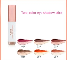 Popular global girl two-color eye shadow stick pearl pen fashion eye-modified hot sale