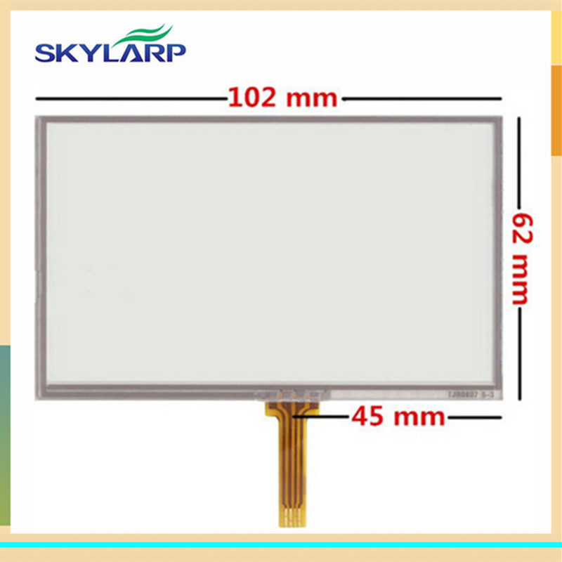 skylarpu 10pcs/lot New Touch screen panels for GARMIN Nuvi 2360 2360LT 2360LMT GPS Touchscreen digitizer panel replacement кронштейн держатель для garmin nuvi 2497lmt 2557lmt 42lm 52 54lm new