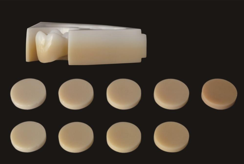6 krāsu slāņu zobu priekšējais cirkonijs Zirkon Zahn CAD CAM - Mutes higiēna - Foto 5