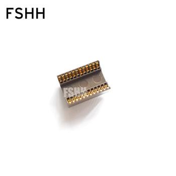 цена на 600-100-24 IC SOCKET/IC Test Socket DIP24 Socket/DIP-24 Burn-in Socket Pitch=2.54mm width=15.24mm/600mil