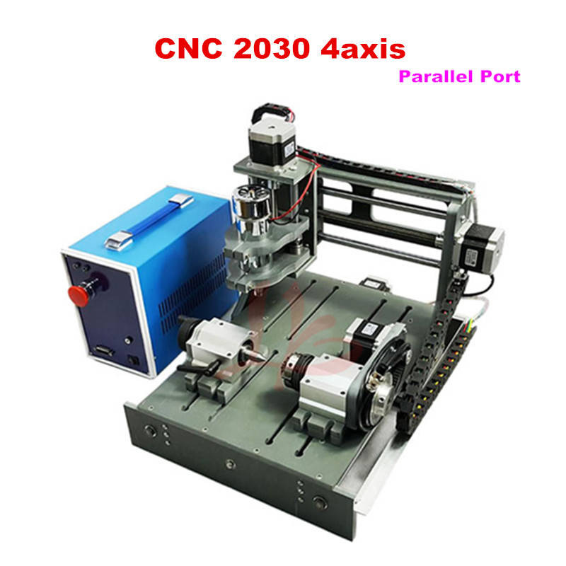 no tax to russia! Mini CNC router 2030-parallel port 4axis cnc lathe DIY cnc milling machine for pcb wood no tax to russia miniature precision bench drill tapping tooth machine er11 cnc machinery