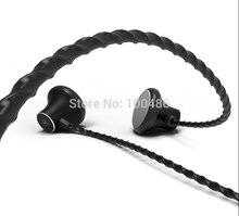 VJJB C1S HIFI MP3 מוסיקה ב אוזן אוזניות מתכת קסם צליל 3.5mm תקע