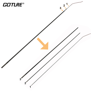 Goture BRISE/ROT FUCHS/GOLDLITE Teleskop Angelrute Top 3 Tipps (K10055/K10171)-in Angelruten aus Sport und Unterhaltung bei
